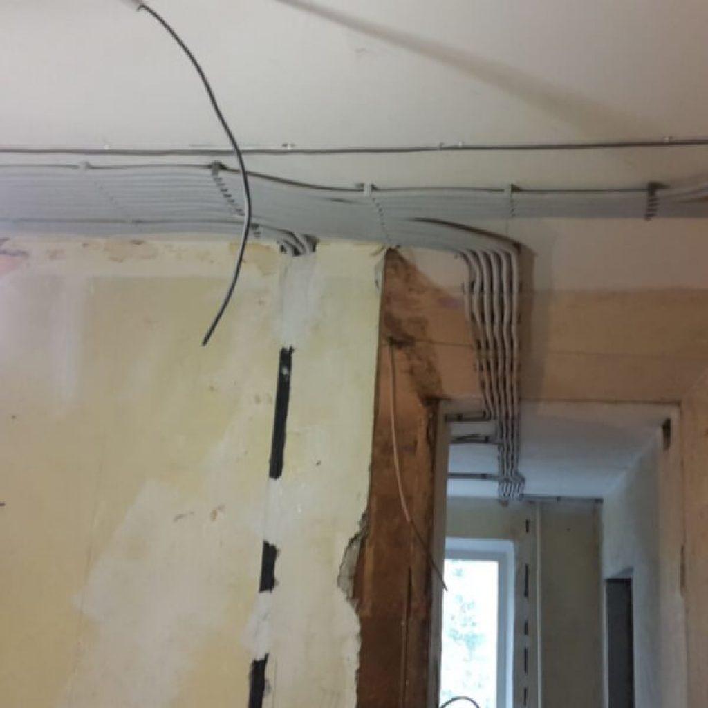 замена проводки в квартире панельного дома